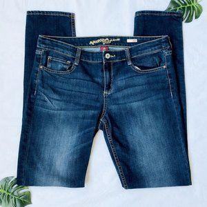 Arizona Jeans Super Skinny Blue Jeans 11 Long
